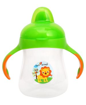 1st Step Hard Spout Cup Green - 250 ml