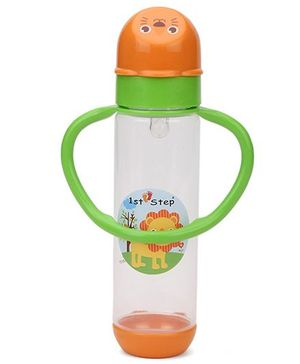 1st Step Feeding Bottle - Orange and Green
