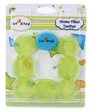 1st Step Water Filled Teether - Green