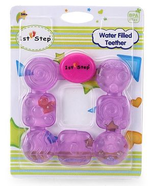1st Step Water Filled Teether - Purple