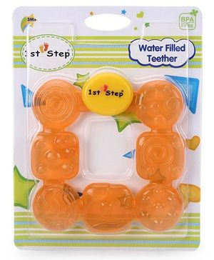 1st Step Water Filled Teether - Orange