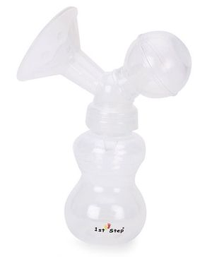 1st Step Manual Breast Pump - White