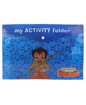 Chhota Bheem My Activity Folder - Blue