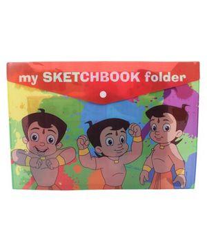 Chhota Bheem My Sketchbook Folder - Multi Color