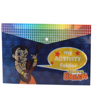 Chhota Bheem Envelope Folder Pouch - Royal Blue