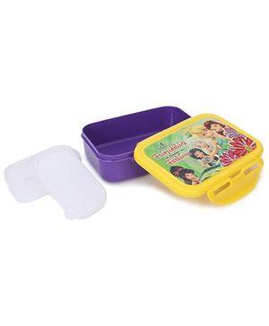 Cello Homeware Enigma Lunch Box Frienship Print - Purple Yellow
