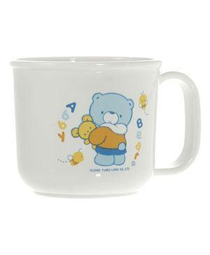 Abby Bear AB 11002 Baby Mug - White