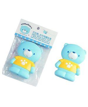 Abby Bear AB 14032 Squeaky Bath Toy - Blue