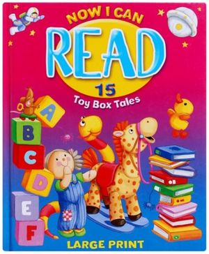 Now I Can Read 15 Toy Box Tales - English