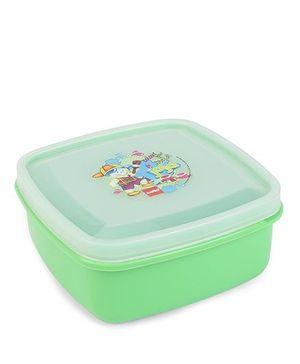 Cello Homeware Lunch Box Color Your World Print - Green