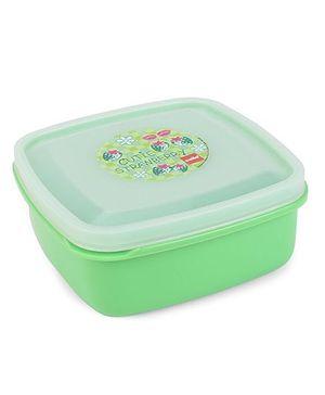 Cello Homeware Lunch Box Cutie Strawberry Print - Green