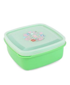 Cello Homeware Lunch Box Melody Print - Green