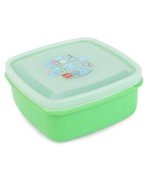 Cello Homeware Lunch Box Melody Print - Green