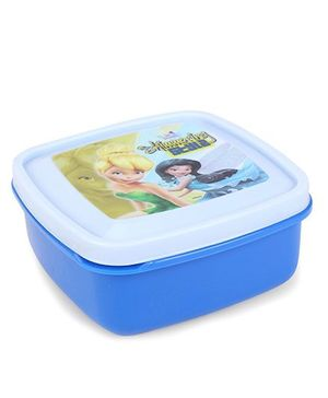 Cello Homeware Lunch Box Shimmering Style Print - White Blue