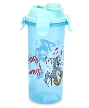 Tom And Jerry Medium Sports Sipper With Lid - Blue
