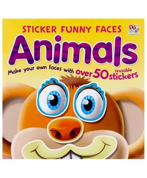 Sticker Funny Faces - Animals