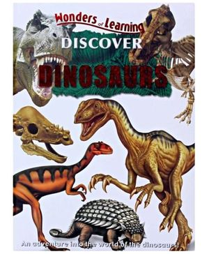 MEGAPS Wonders Of Learning Discover Dinosaurs