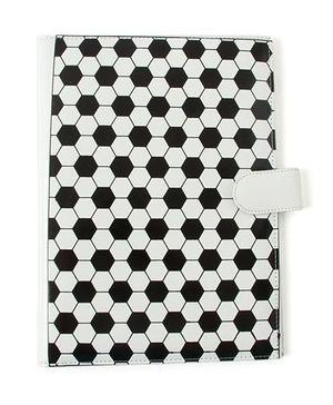 Aayera's Nest Football Print File Folder - Black & White