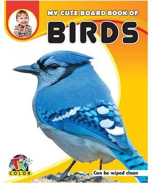 My Cute Board Book of Birds - English