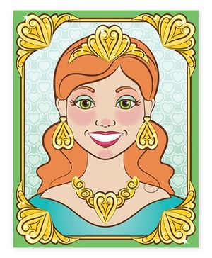 Melissa And Doug Make A Face Princess - 180 Stickers