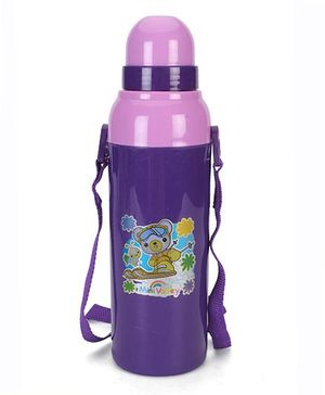 Cello Homeware Insulated Cool Wiz Bottle Purple - 600 ml