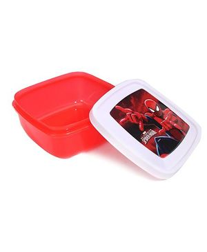 Cello Homeware Spiderman Lunch Box - Red