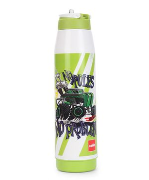 Cello Homeware Sipper Water Bottle Green - 900 ml
