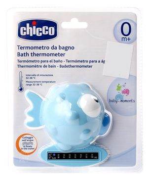 Chicco Fish Shape Bath Indicator - Blue