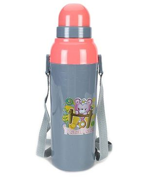 Cello Homeware Cool Wiz Insultated Sipper Water Bottle Grey - 600 ml