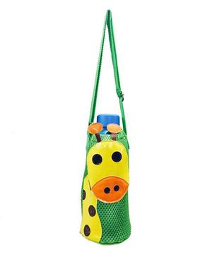 Li'll Pumpkins Giraffe Design Bottle Cover - Green