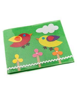 Li'll Pumpkins Bird Book Cover - Green