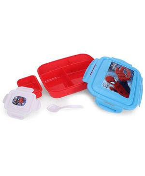 Marvel Spiderman Lunch Box - Blue And Red