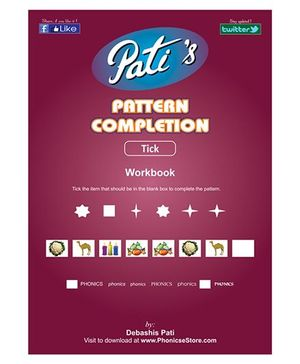 Pattern Completion Downloadable Workbook - English