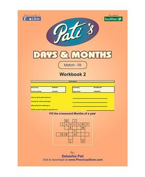 Days And Months 2 Downloadable Workbook - English