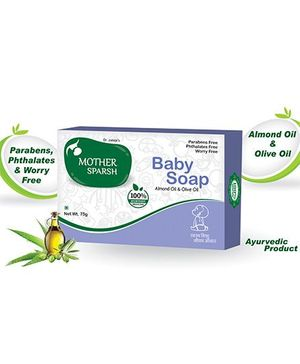Mother Sparsh Ayurvedic Baby Soap - 75 gm
