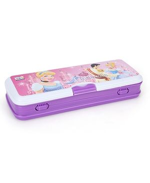 Disney Princess Pencil Box - Purple And White