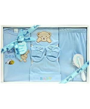 Montaly Baby Gift Set - Bear Print