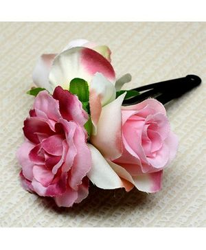 Asthetika Flower Hair Clip - Pink