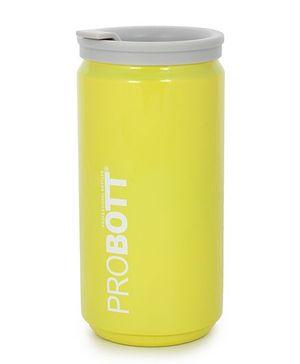 Probott Insulated Sports Bottle Yellow - 350 ml