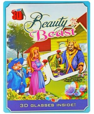 Beauty And The Beast - With 3D Glasses