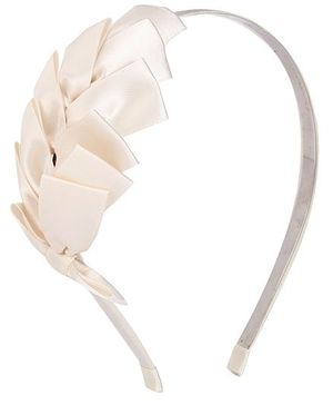 ATUN Ribbed Hair Band - White