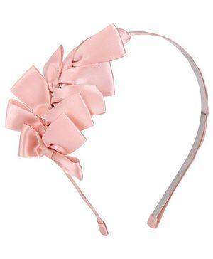 ATUN Ribbed Hair Band - Pink