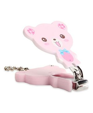 Adore Baby Cartoon Nail Clipper Teddy Shape - Pink