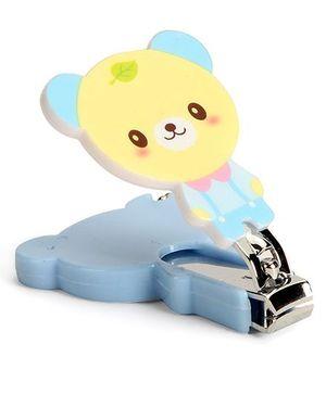 Adore Baby Cartoon Nail Clipper Teddy Shape - Blue