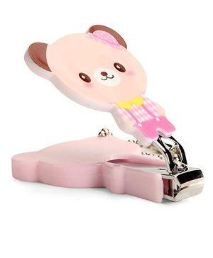 Adore Baby Cartoon Nail Clipper - Pink & Brown