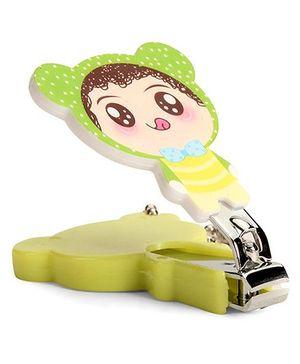 Adore Baby Cartoon Nail Clipper Green (Character May Vary)