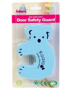 Adore Door Safety Guard Koala Design - Blue