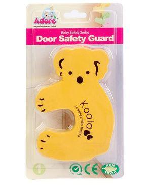 Adore Door Safety Guard Koala Design - Yellow