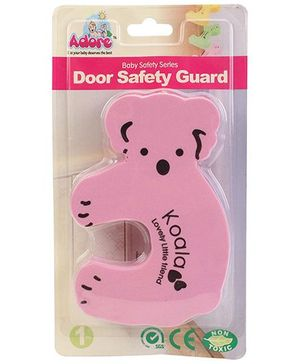 Adore Baby Door Stopper Bear - Pink
