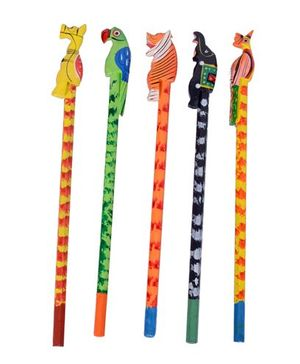 Desi Toys Rangeen Kalam Multicolor - Pack Of 5